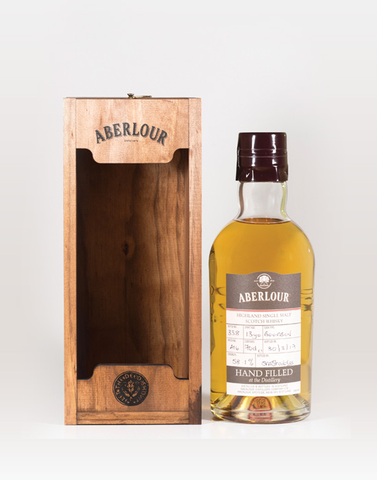 Aberlour-13-Year-Old-Hand-Filled-Bourbon-Cask