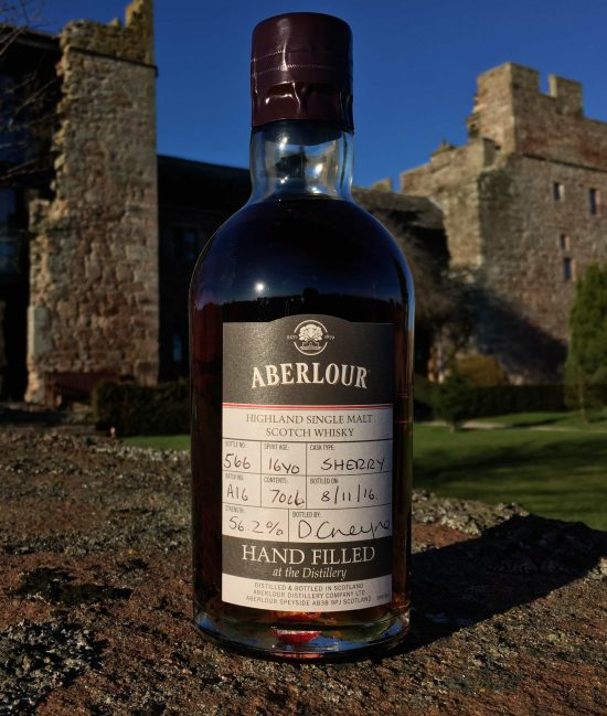 Aberlour Hand Filled Sherry Matured 16 Year Old