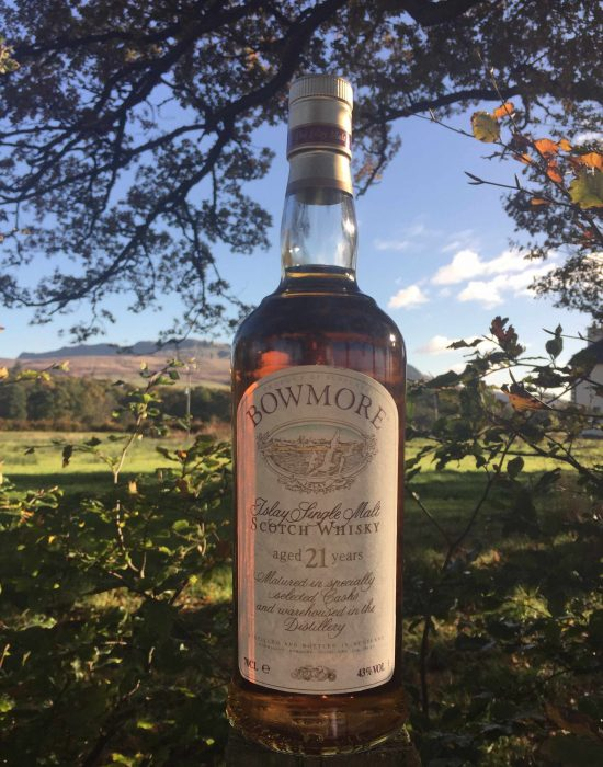Bowmore Old Style 21 Year Old with Presentation Box