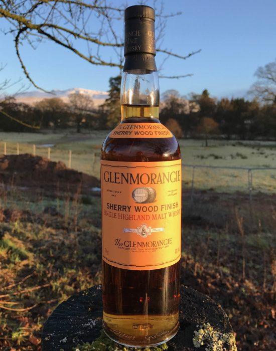 Old style Glenmorangie Sherry Wood Finish