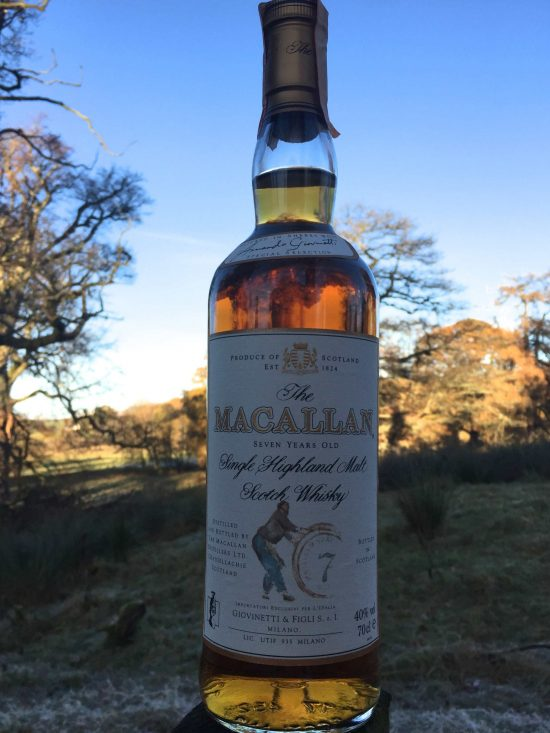 Incredibly Rare Macallan 7 Year Old