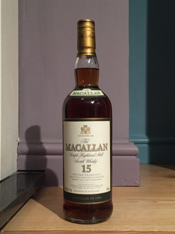 Macallan 1984 15 Year Old Vintage