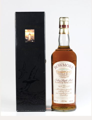 Old Style Bowmore 21 Year Old