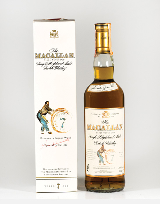 Rare Macallan 7 Year Old
