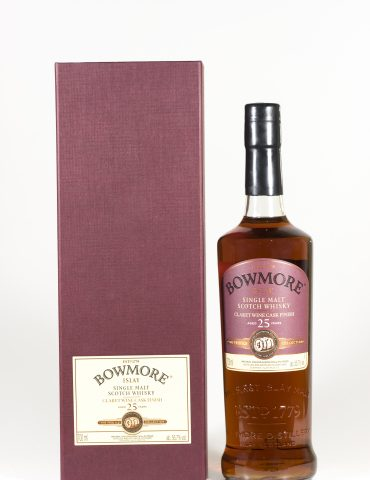 Bowmore 25 Year Old Claret Wine Finish Feis Ile 2016