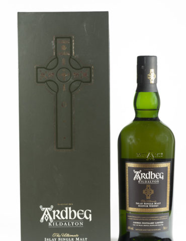 Bottle of Ardbeg Kildalton Whisky