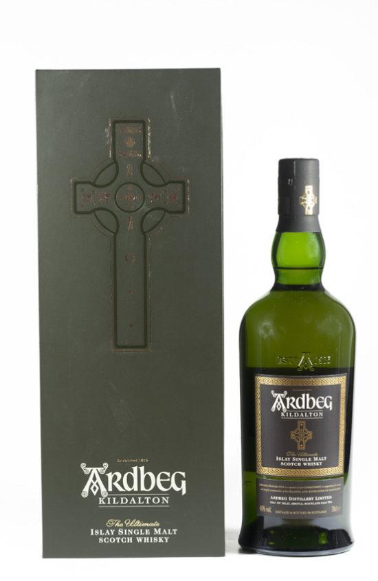 Bottle of Ardbeg Kildalton Whisky