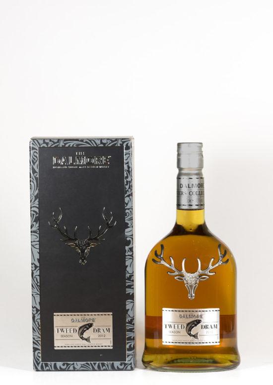 Bottle of Dalmore Tweed Dram Whisky