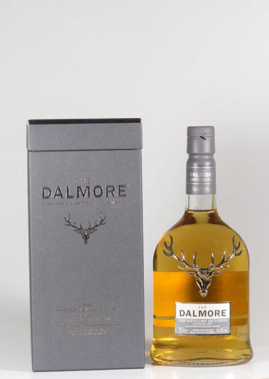 "Bottle of Dalmore Vintage 1997 ""Bourbon Finesse"" Whisky"