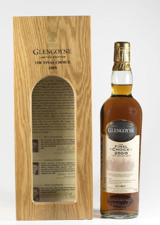 Bottle of Glengoyne The Final Choice Whisky