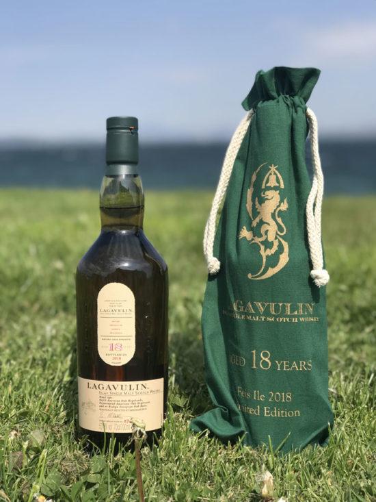Bottle of Lagavulin Feis Ile 2018 18 Year Old Whisky