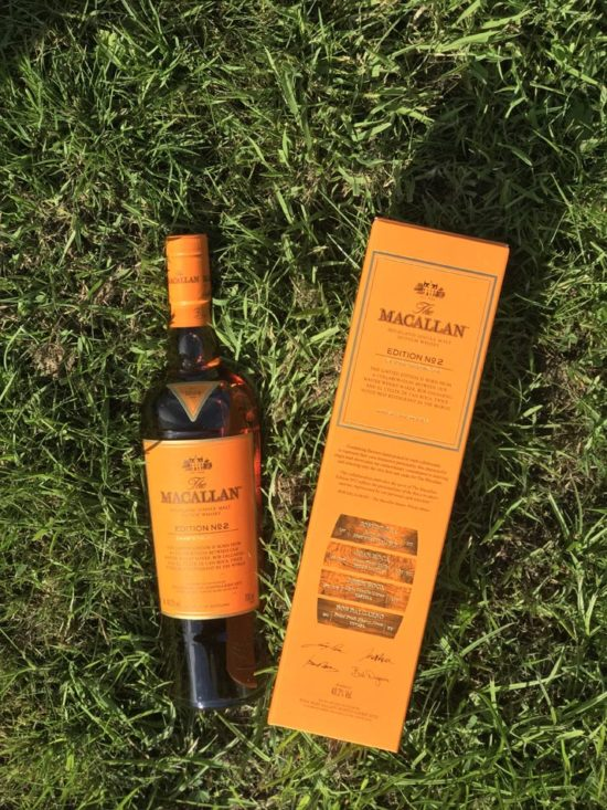 Bottle of Macallan Edition 2 Whisky