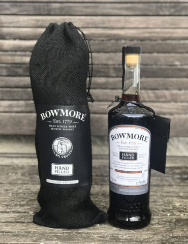 Bottle of Bowmore Hand-Filled 17 Year Old Sherry Single Cask Whisky